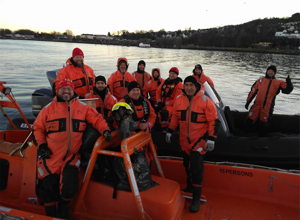 Fifteen HRT Volunteers Are Hosted by RS for the 4th Course of Maritime Rescue Training