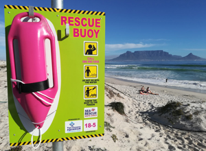Awards Story 2018: NSRI's Pink Rescue Buoys
