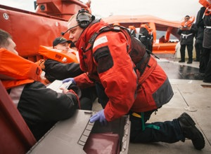 Awards Story 2018: The Canadian Coast Guard Volunteer Rescue Specialists