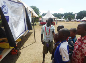Scouts Learn Water Safety in Uganda