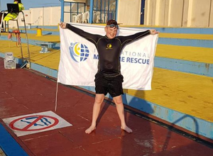Sponsor 1 kilometer swim as part of his Duke of Edinburgh Award